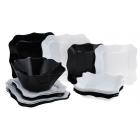 Столовый сервиз Authentic Black&White на 19 пр Luminarc e6195