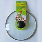 Cтеклянная жаропрочная крышка для сковороды MAESTRO