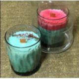 Свеча ароматическая Dal Corа соевая, Киви игрейпфрут