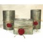 Набор парафиновых свечей Хайтек Dal Corа