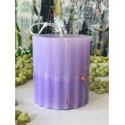 Свеча для декора Цилиндр рифленый h7,5см Dal Corа парафин