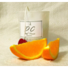Свеча массажная свеча с маслом Ши и апельсина Dal Corа, стакан 180мл
