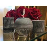 Свечи для декора d13см Dal Corа шар Шоколад