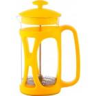 Заварник стекло + пластик 600 мл Con Brio желтый