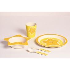 Детский набор посуды 5 пр морская звезда Con Brio