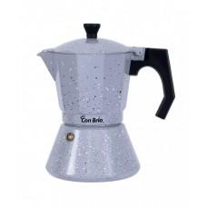 Гейзерная кофеварка на 6 чашек Con Brio