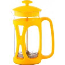 Заварник 800 мл стекло + пластик Con Brio желтый