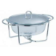 Мармит для первых блюд 3.75л Con Brio посуда для подачи горячих блюд с подогревом