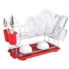 Настольная двухъярусная сушилка для посуды Con Brio