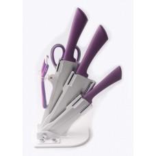 Набор ножей с подставкой 6 пр Con Brio