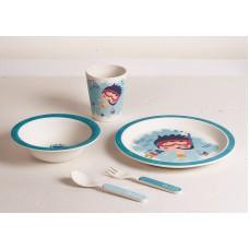 Детский набор посуды 5 пр мальчик-ныряльщик Con Brio