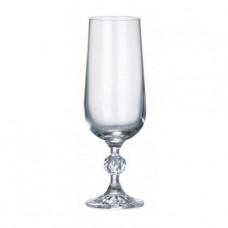Набор бокалов для шампанского 180 мл Claudia BOHEMIA