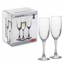 Бокалы для шампанского 6 шт Pasabahce Imperial Plus