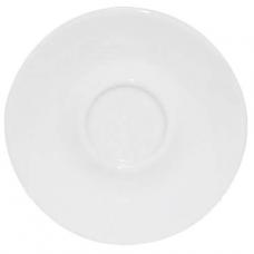 Блюдце белое к чашке 11,7 см SNT