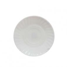 Блюдце белое к чашке 8,5 см SNT