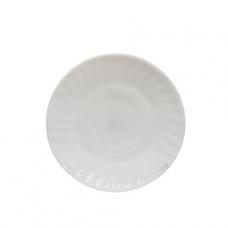 Блюдце белое к чашке SNT