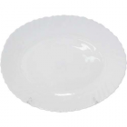 Блюдо овальное 34 см белое SNT