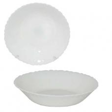 Тарелка суповая d=18см белая SNT