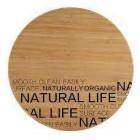 Доска разделочная 30 см Natural life Bergner