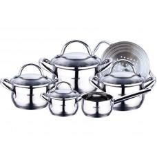 Набор посуды 10 пр Bergner