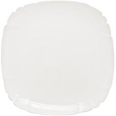 Десертная квадратная тарелка Lotusia d=23 см Luminarc