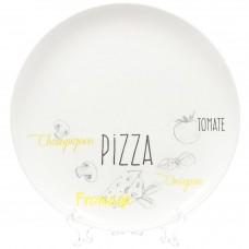 Блюдо для пиццы Friends Time Bistrot d=32 см LUMINARC
