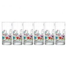 Набор высоких стаканов Rose Pompon 6 шт по 270 мл Luminarc