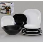 Столовый сервиз Carine Black&White 19 предметов Luminarc