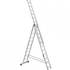 Лестница трехсекционная алюминиевая Stark (Германия) 3*13 SVHR3x13