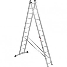 Лестница двухсекционная алюминиевая Stark (Германия) 2*12 SVHR2x12