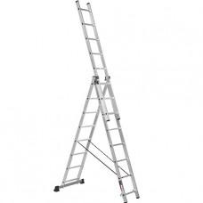 Лестница трехсекционная алюминиевая Stark (Германия) 3*8 SVHR3x8