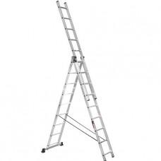 Лестница трехсекционная алюминиевая Stark (Германия) 3*9 SVHR3x9