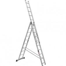 Лестница трехсекционная алюминиевая Stark (Германия) 3*10 SVHR3x10