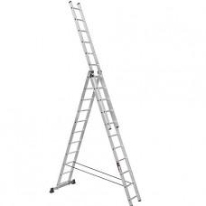 Лестница трехсекционная алюминиевая Stark (Германия) 3*11 SVHR3x11