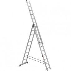 Лестница трехсекционная алюминиевая Stark (Германия) 3*12 SVHR3x12