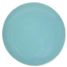 Тарелка десертная голубая 21 см