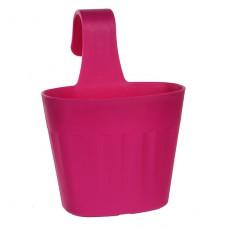 Горшок для цветов Fiorenza 3,8 л. Розовый пластик/полипропилен