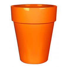 Горшок для цветов 11 л. глина, оранжевый