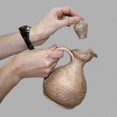 Графин 0,6л Скифский орнамент керамический глиняный