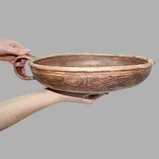 Гусятница Скифский орнамент 29*6*34см керамическая глиняная