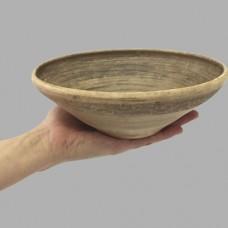 Миска большая борщ Виноград керамическая глиняная