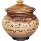 Горшок Шляхтянский 0,750 л керамический глиняный