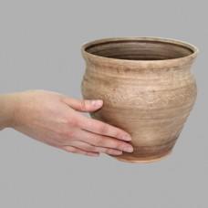 Макитра 3,2 л Виноград керамическая глиняная