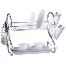Двухъярусная сушилка для посуды ConBrio