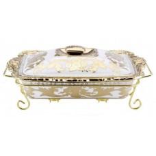 Мармит керамический Madonna 1,5 л посуда для подачи горячих блюд с подогревом