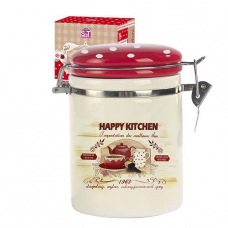 Емкость для сыпучих продуктов 1,2 л Happy Kitchen SNT