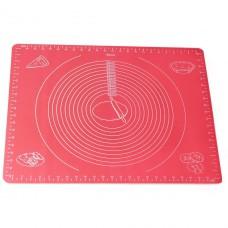 Коврик силиконовый для раскатки теста 50х40см Kamille