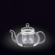 Заварочный чайник с ситечком 800мл Thermo Wilmax