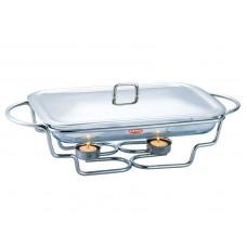 Мармит 3,4 л Peterhof посуда для подачи горячих блюд с подогревом