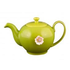 Заварочный чайник оливковый на 600мл Е-декор